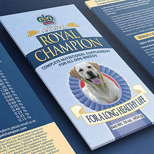 Royal Champion - label