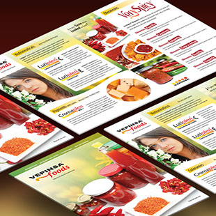 Vepinsa Foods marketing materials